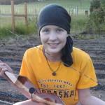 hannah with bow