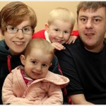 Bethany, 2 year old, fighting against cancer with her family